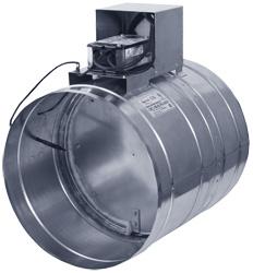 Противопожарные круглые клапаны ОКС-1М
