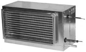 Фреоновые охладители для прямоугольных воздуховодов PBED