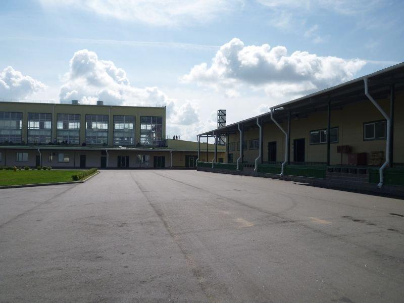 Территория завода ЗАО