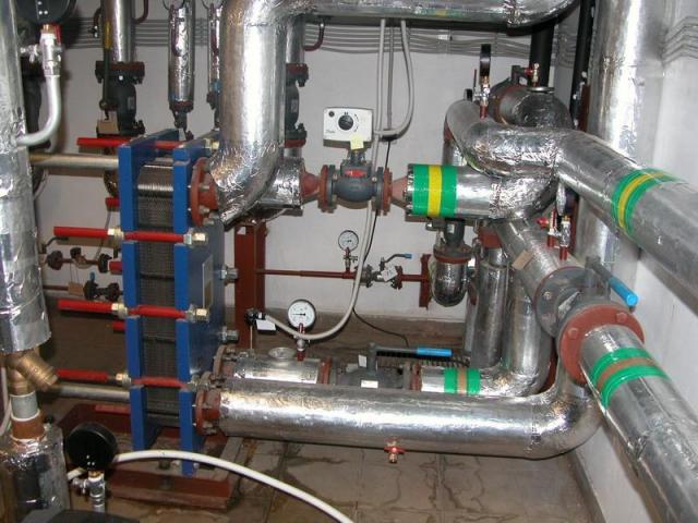 Технология отопления дома